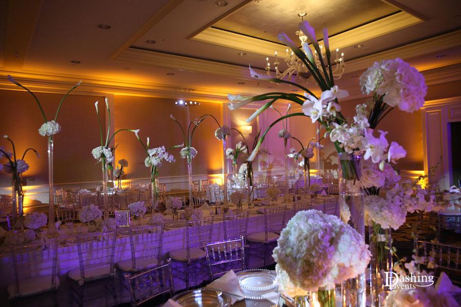 Ritz Carlton Marina Del Rey Amber Uplighting
