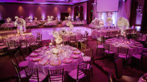 Uplighting services in Los Angeles