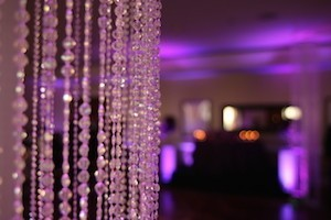 Crystal Columns Wedding Decor thumb