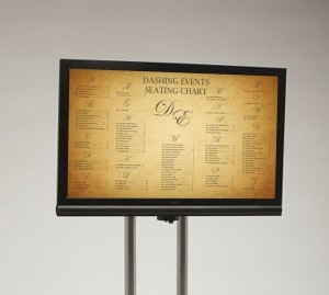 Digital Seating Chart