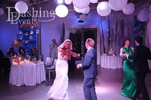 Parents' Dance - Father and Bride, Groom and Mother in Persian American Laguna Beach Wedding