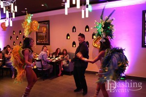 Samba Dancers at Ali Baba Persian Restaurant in Glendale