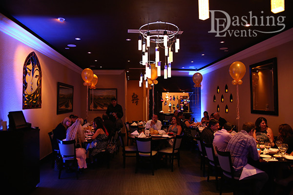 DJ Diary: DJ & Decor Lighting for Encino Birthday Party