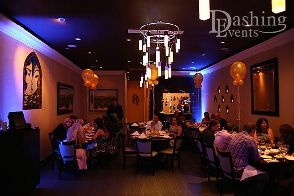 Decor Lighting at Ali Baba Persian Restaurant