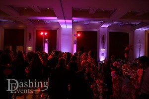 Packed Dance Floor for a Bahai Wedding in Pasadena