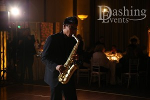 israeli american wedding sephardic temple los angeles saxophonist