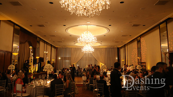 DJ Diary: Live Band & Decor Lighting for Jewish Wedding in Los Angeles