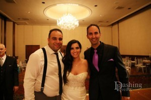 israeli american wedding sephardic temple los angeles wedding couple