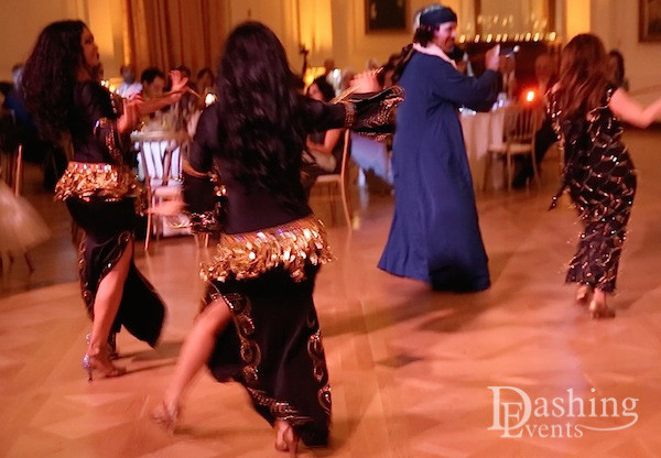 Saidi Dancers at Egyptian Wedding
