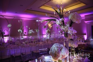 Lavender Uplighting