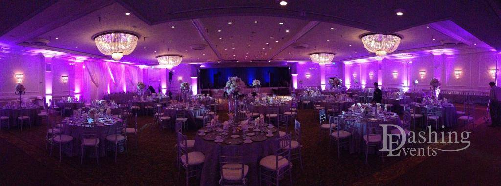Sportsmen's Lodge Empire Ballroom lighting