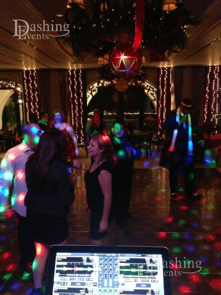 DJ Diary: Holiday Party at Wilshire Country Club in Los Angeles