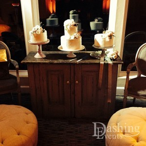 st. regis monarch beach resort vintage wedding cake arrangement lighting