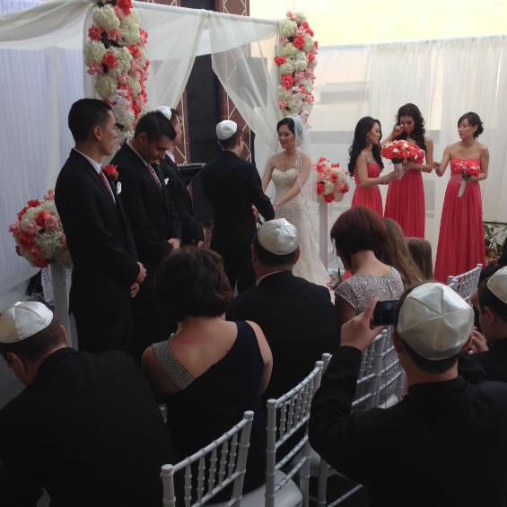 DJ Diary: Entertainment for Jewish / Korean Wedding in North Hollywood