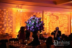 bat mitzvah fairmont miramar hotel santa monica amber uplighting gobo lighting