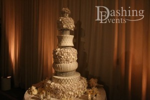 sls hotel beverly hills wedding los angeles cake lighting