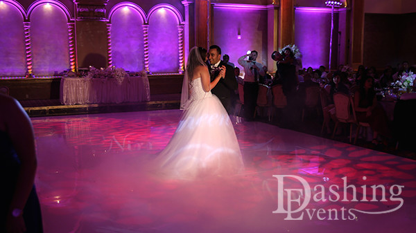 DJ Diary: Arabic DJ, Band & Decor Lighting for Los Angeles Wedding