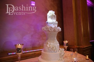 renaissance banquet hall pinspot cake lighting los angeles