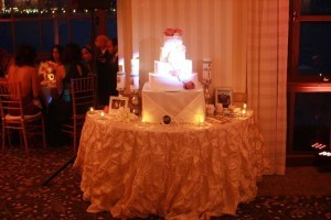 cake pinspot at portofino hotel