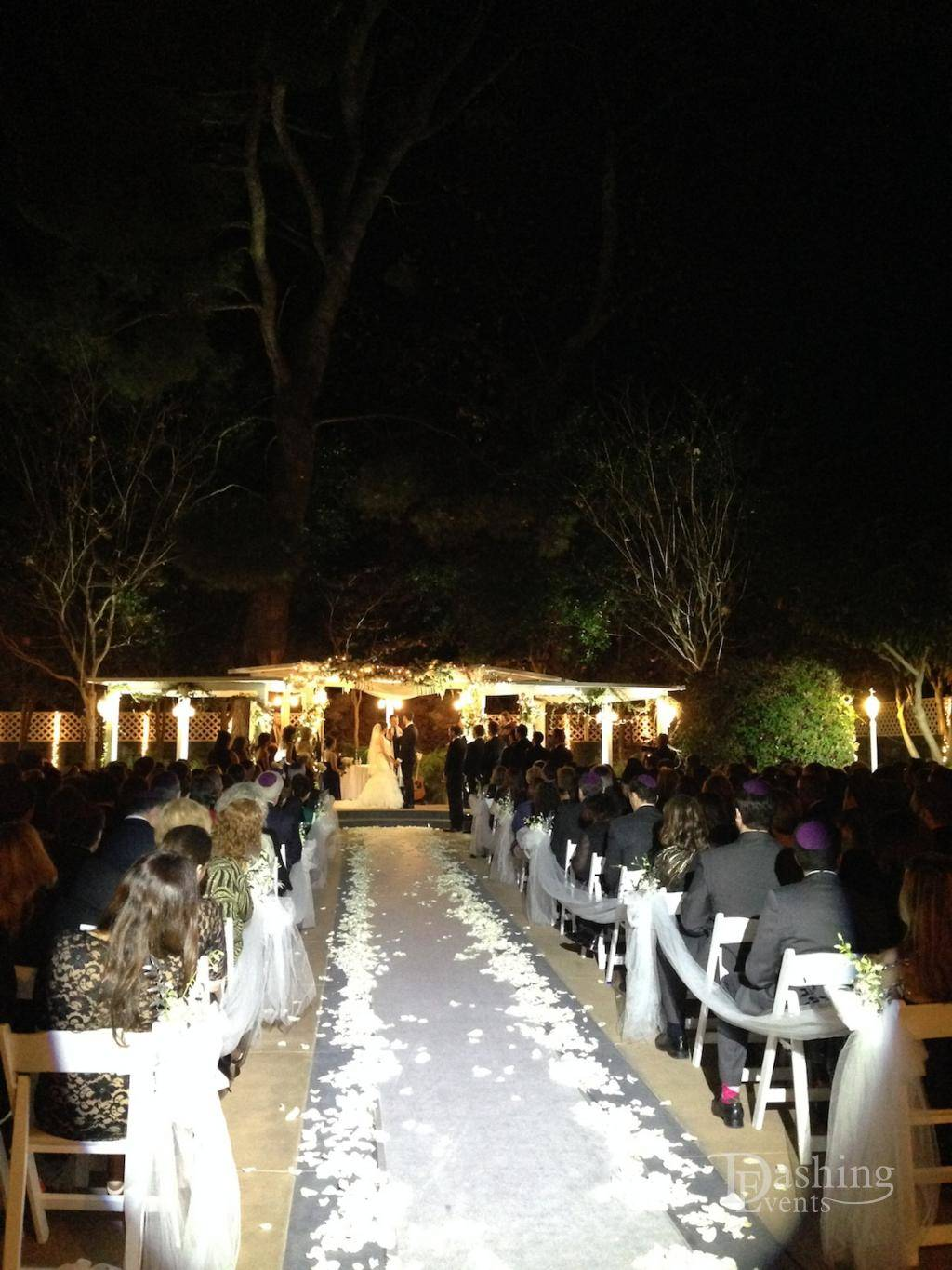Event Diary: Decor Lighting for Charming Jewish Wedding