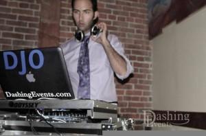 DJ at Rococo Room