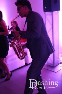 wedding saxophonist los angeles