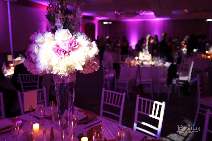 Centerpiece Pinspot Lighting Los Angeles