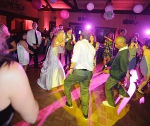 wedding dance lighting