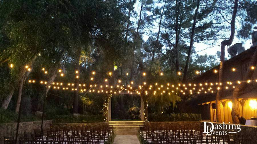 Calamigos Ranch String Lighting